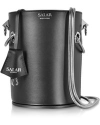 Salar - Celia Leather Bucket Bag - Lyst