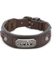 Fossil - Jf86562040 Vintage Casual Men's Bracelet - Lyst