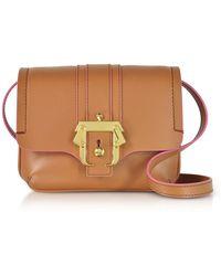 Paula Cademartori - Pecan Brown Leather Gigi Crossbody Bag - Lyst