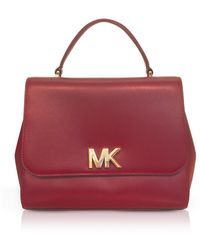 Michael Kors - Mott Medium Leather Satchel Bag - Lyst
