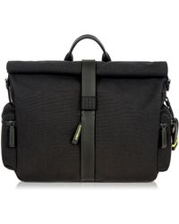 Bric's | Moleskine Rolltop Messenger Bag | Lyst