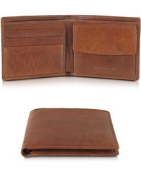 The Bridge - Story Uomo Leather Billfold Wallet W/coin Pocket - Lyst