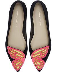 Sophia Webster Bibi Butterfly Flat Ballerinas