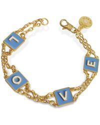 Tory Burch - Gold Metal Bracelet - Lyst