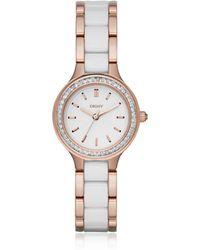 DKNY - Ny2496 Chambers Women's Watch - Lyst