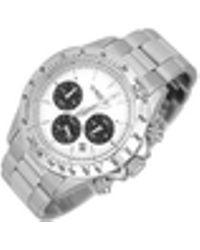 Forzieri | Porto Cervo White Dial Chronograph Watch | Lyst