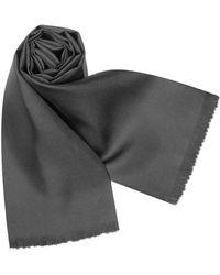 Forzieri | Solid Silk Scarf | Lyst