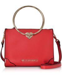 Valentino By Mario Valentino - Eco Leather Aladdin Small Tote Bag  W detachable Shoulder Strap 0fc66221b4