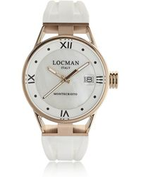LOCMAN - Montecristo Rose Gold Pvd Stainless Steel & Titanium Women's Watch - Lyst