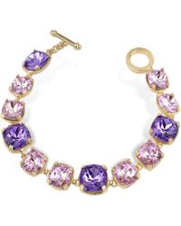 AZ Collection - Amethyst Crystal Bracelet - Lyst