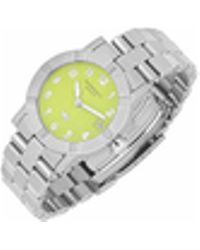 Raymond Weil - Parsifal W1 - Women's Lime Dial Stainless Steel Date Watch - Lyst