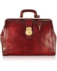 The Bridge - Capalbio Genuine Leather Doctor Bag - Lyst fd8c1573320fd