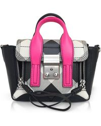 3.1 Phillip Lim - Pashli Gingham Nano Satchel Bag - Lyst