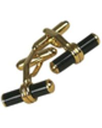 FORZIERI - Baton - Unconventional Gold Plated Cuff Links - Lyst