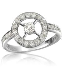 FORZIERI - 0.52 Ctw Diamond 18k Gold Ring - Lyst