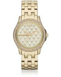 Armani Exchange - Ax5216 Lady Hampton Women's Watch - Lyst