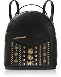 Michael Kors - Jessa Small Embellished Leather Convertible Backpack - Lyst