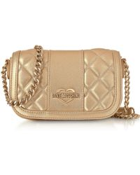 ba6ad126033 Love Moschino - Borsa Quilted Metall.nappa Pu Shoulder Bag - Lyst