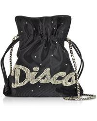 Les Petits Joueurs - Trilli Disco Strass Bucket Bag - Lyst