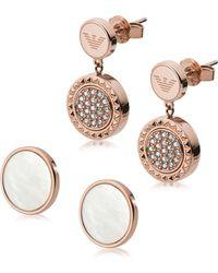Emporio Armani - Egs2586221 - Women's Earring - Lyst