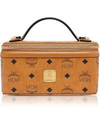 MCM - Visetos Original Rockstar Vanity Case Crossbody Bag - Lyst