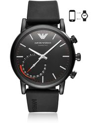 Emporio Armani - Art3010 Luigi 43 Hybrid Se1 Men's Smartwatch - Lyst