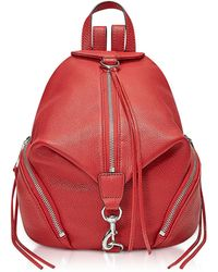 Rebecca Minkoff - Red Scarlet Medium Julian Backpack - Lyst