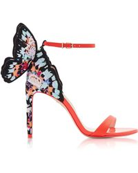 Sophia Webster - Pink Chiara Embroidery Sandals - Lyst
