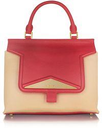 Vionnet - Mosaic 30 Colorblock Leather & Black Ayers Medium Satchel Bag W/shoulder Strap - Lyst
