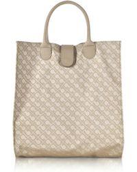 Gherardini - Signature Coated Canvas Softy Foldable Tote Bag - Lyst