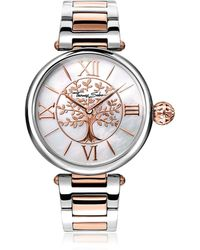 Thomas Sabo - Karma Silver And Rose Gold Stainless Steel Women's Watch - Lyst