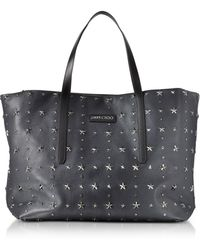 Jimmy Choo - Pimlico Navy/slate Leather Men's Large Tote - Lyst