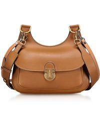 Tory Burch - Genuine Leather The James Saddlebag - Lyst