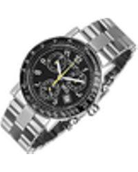 Raymond Weil | W1 - Black Stainless Steel Chronograph Watch W/ Tachymetre | Lyst
