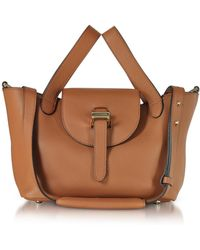 meli melo - Tan Thela Mini Cross Body Bag - Lyst