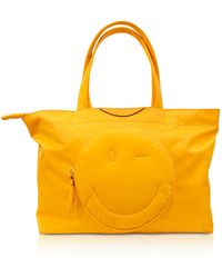 Anya Hindmarch - Soleil Nylon Chubby Smiley E/w Tote Bag - Lyst