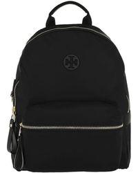 Tory Burch - Tilda Nylon Zip Backpack Black - Lyst