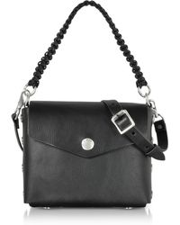 Lyst - Rag   Bone Bradbury Mini Faux Textured-leather Shoulder Bag ... 0f4bc2ea1e27b
