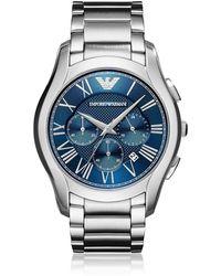 Emporio Armani - Ar11082 Valente Men's Watch - Lyst