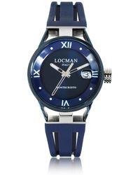 LOCMAN - Montecristo Stainless Steel And Titanium Women's Watch W/silicone Strap - Lyst