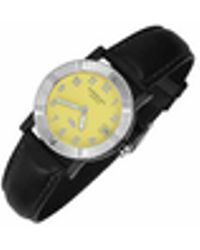 Raymond Weil - Parsifal W1 - Women's Yellow Stainless Steel & Leather Date Watch - Lyst