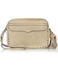 Rebecca Minkoff - Sandstone Leather Bryn Camera Bag - Lyst