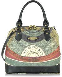 Gattinoni | Planetarium Medium Top Zip Bolwer Bag | Lyst
