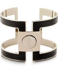 Pluma - Brass Single Viti Cuff In Fumoso - Lyst