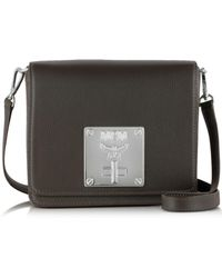MCM - Mona Fango Leather Small Shoulder Bag - Lyst