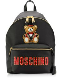 Moschino - Logo Patch Backpack - Lyst
