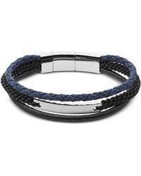 Fossil - Jf02633040 Vintage Casual Men's Bracelet - Lyst