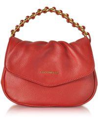 Coccinelle - Julie Leather Top Handle Bag - Lyst