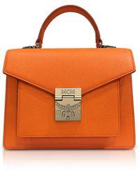 MCM - Patricia Park Avenue Small Satchel Bag - Lyst