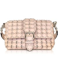 RED Valentino - Flower Puzzle Leather Shoulder Bag - Lyst